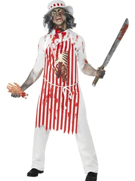 Adult Bloody Butcher Costume Couples Costume