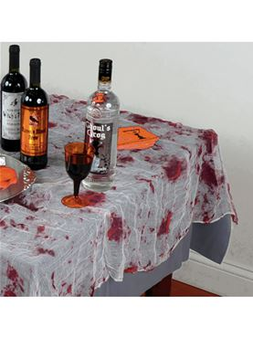 Bloody Gauze Tablecloth