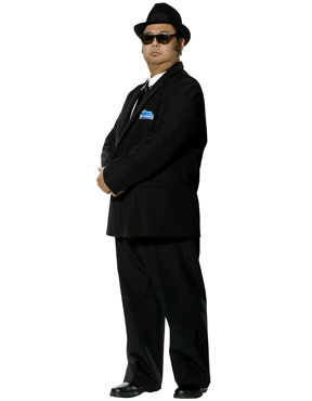 Adult Blues Brothers Costume - Side View
