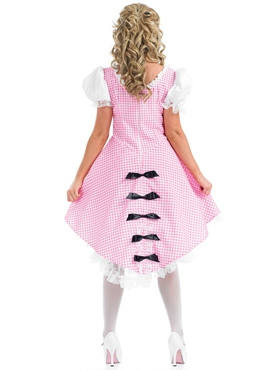 Adult Bo Peep Long Costume - Side View