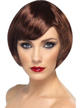 Bob Babe Wig Brown