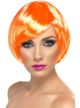 Bob Babe Wig Fire Coral