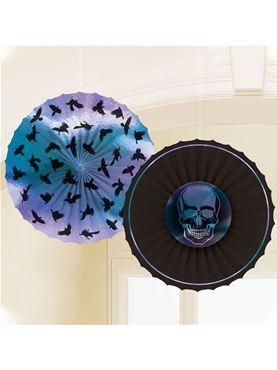 Boneshine Fever Paper Fans