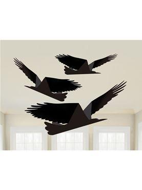 Boneshine Fever Paper Ravens on Strings