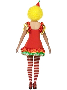 Adult Boo Boo the Clown Ladies Costume - Side View
