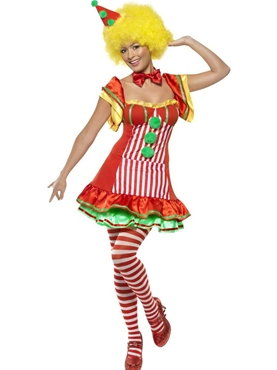 Adult Boo Boo the Clown Ladies Costume