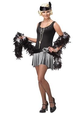 Teen Boop Boop a Doo Flapper Costume
