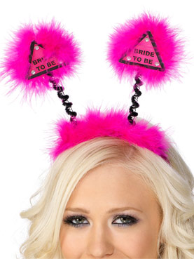 Boppers Fuchsia With Marabou Trim