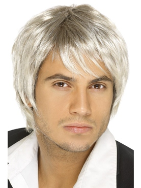 Boy Band Wig Blonde Brown
