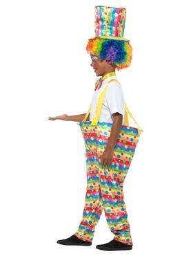 Boys Clown Costume - Back View