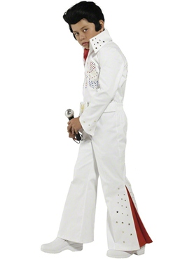 Child Boys Elvis Costume - Back View