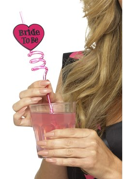 Bride to Be Drinking Straws