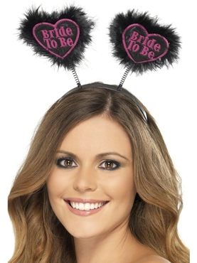 Bride To Be Love Heart Boppers