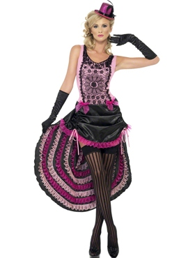 Adult Burlesque Beauty Costume