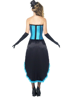 Adult Burlesque Dancer Costume - Side View
