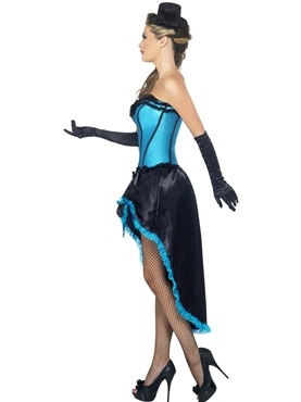Adult Burlesque Dancer Costume - Back View