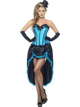Adult Burlesque Dancer Costume