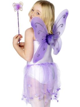 Butterfly Wings Purple