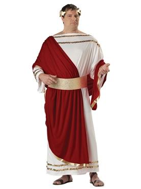 Adult Plus Size Caesar Costume