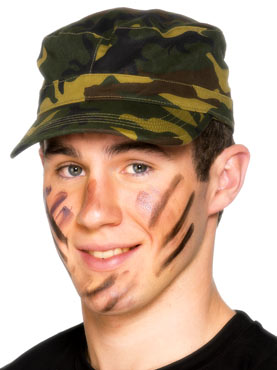 Camouflage Army Cap Camouflage