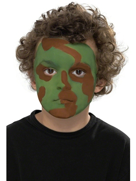 Camouflage Make Up Kit - Side View