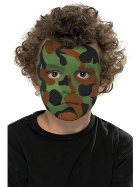 Camouflage Make Up Kit - Back View