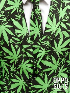 Cannaboss Oppo Suit - Back View