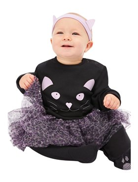 Cat Baby Costume - Back View