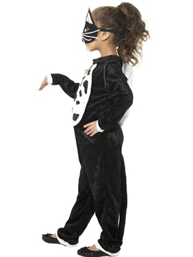 Child Cat Costume - Side View