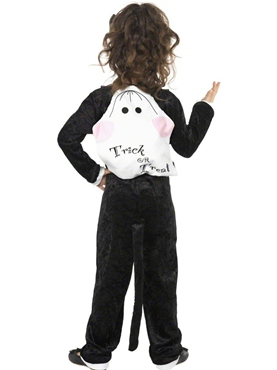 Child Cat Costume - Back View