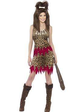 Adult Cavegirl Cutie Costume Thumbnail