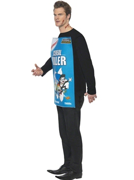 Adult Cereal Killer Costume - Back View