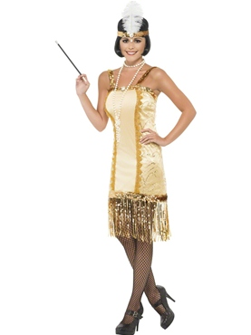 Adult Charleston Flapper Costume