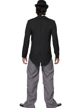 Adult Charlie Chaplin 1920's Star Costume - Side View
