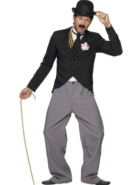 Adult Charlie Chaplin 1920's Star Costume