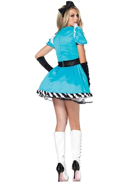 Adult Charming Alice Costume - Back View