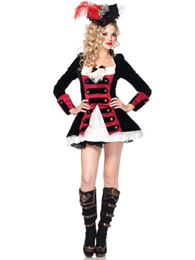 Adult Charming Pirate Captain Costume