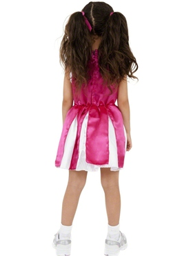 Child Cheerleader Childrens Costume - Side View