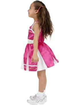 Child Cheerleader Childrens Costume - Back View