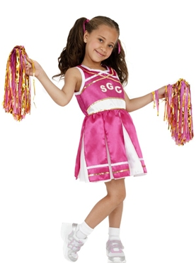 Child Cheerleader Childrens Costume