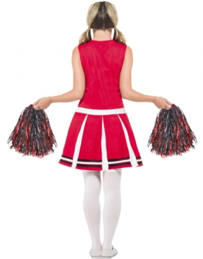Adult Cheerleader Costume - Side View