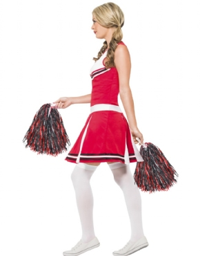 Adult Cheerleader Costume - Back View