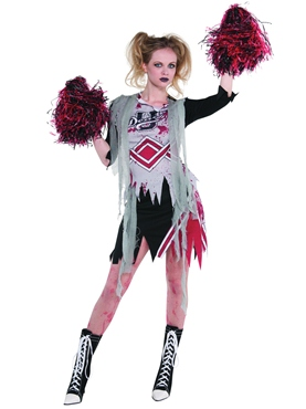 Adult Cheerless Zombie Costume
