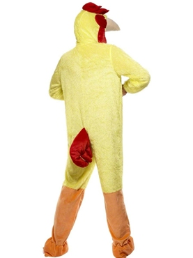 Adult Chicken Costume - Side View