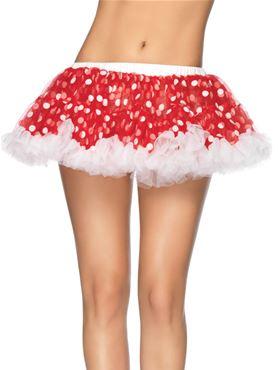 Chiffon Mini Petticoat - Back View