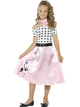 Child 50s Poodle Girl Costume