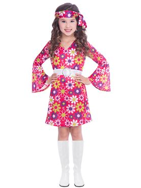 Child 60s Retro Girl Costume