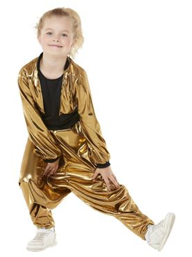 Child 80s Hammer Time Costume - Side View