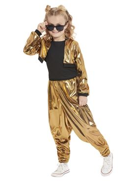 Child 80s Hammer Time Costume