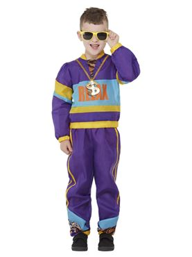 Child 80s Relax Costume Couples Costume
